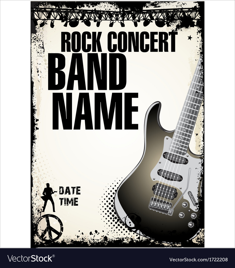 Rock concert background