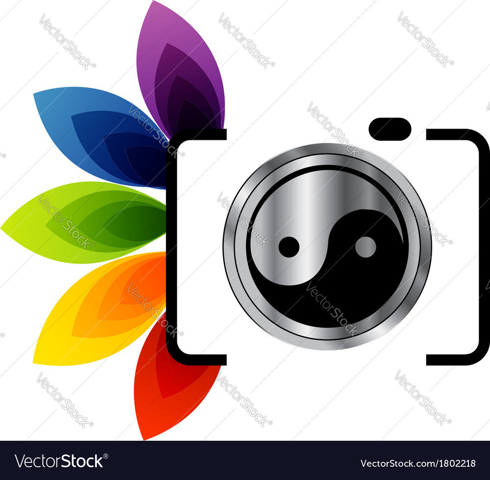 digital camera photography logo royalty free vector image rh vectorstock com photography victorville photography vectors