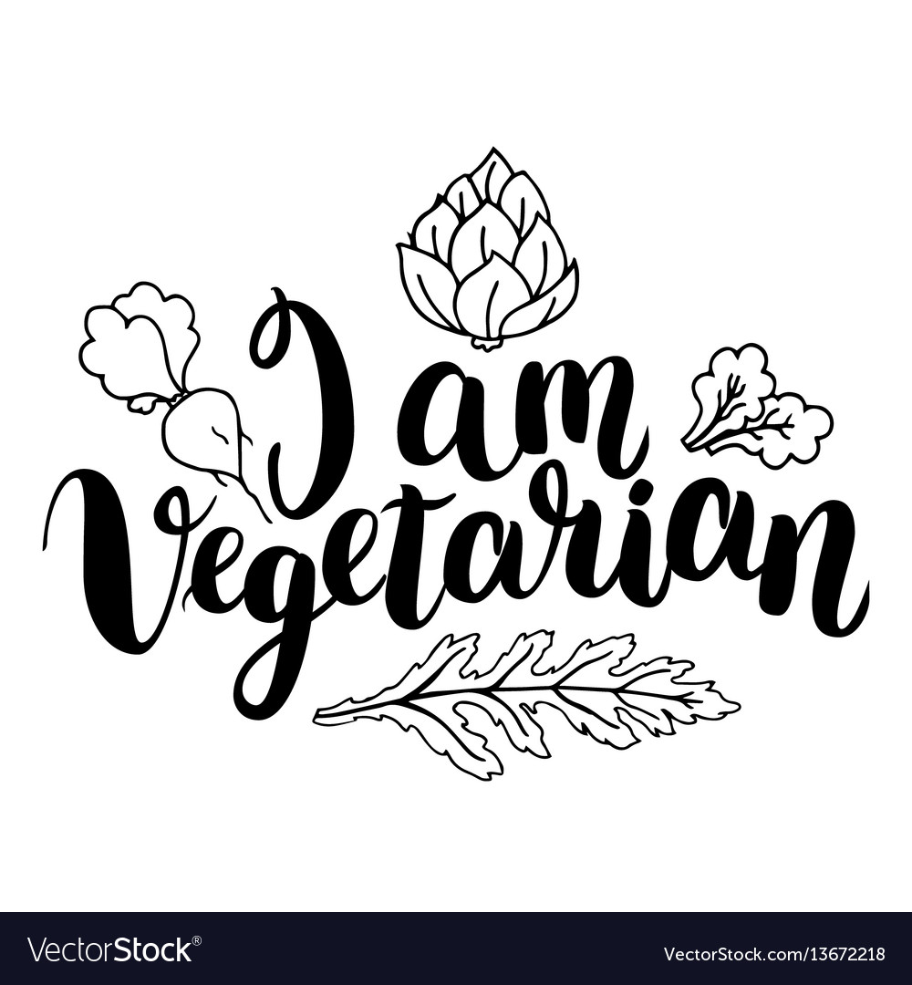 I am vegetarian inspirational quote about