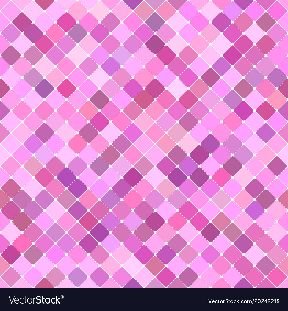 Pink seamless diagonal square pattern background