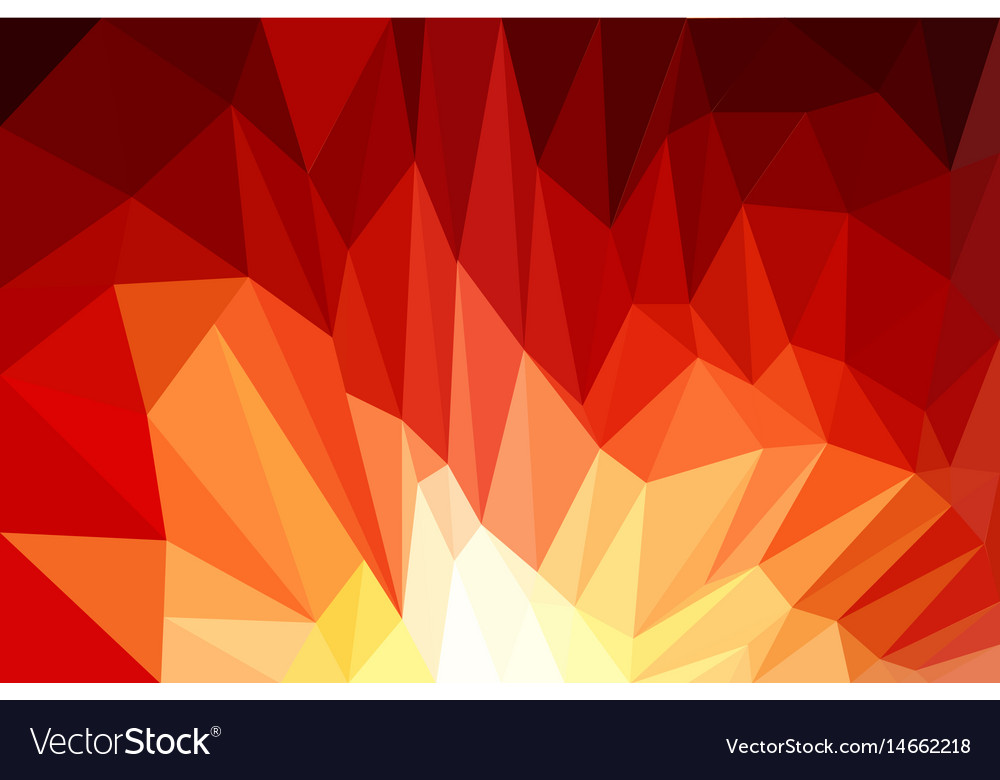 Red background design web abstract low poly