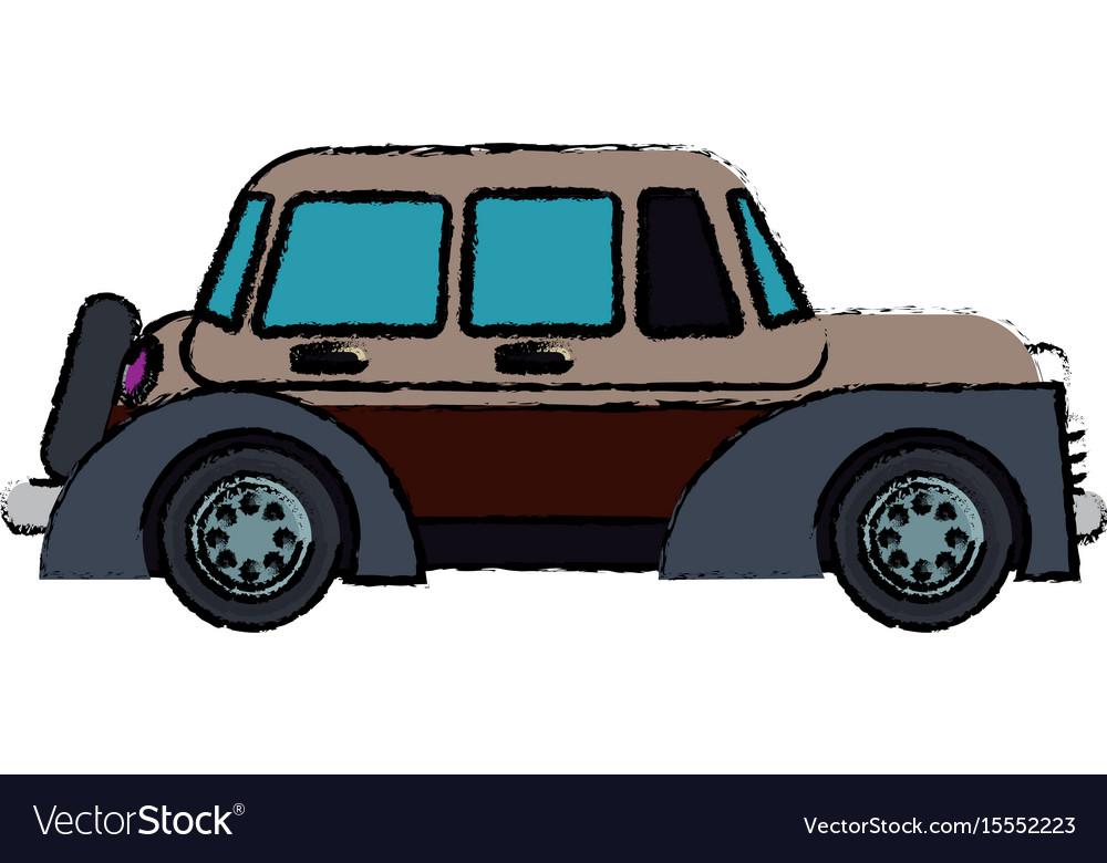 Classic car vehicle transport motor vintage style