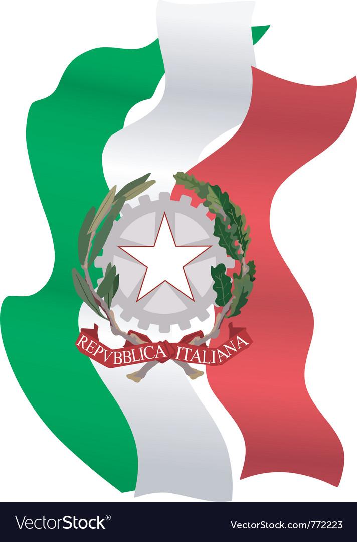 Symbols Of Italy Royalty Free Vector Image Vectorstock