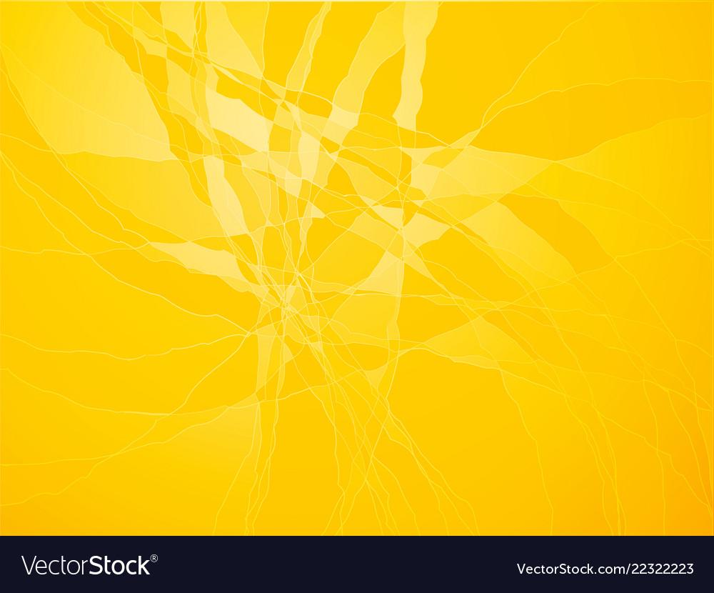 Yellow cracked glass