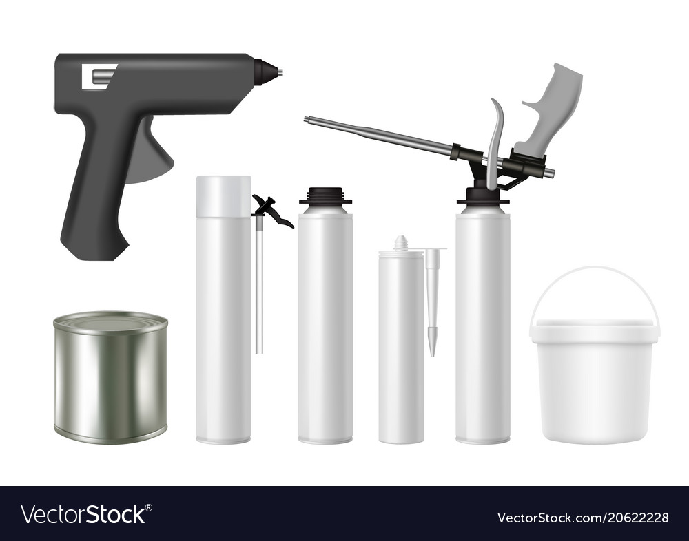 Building tools and construction material packaging