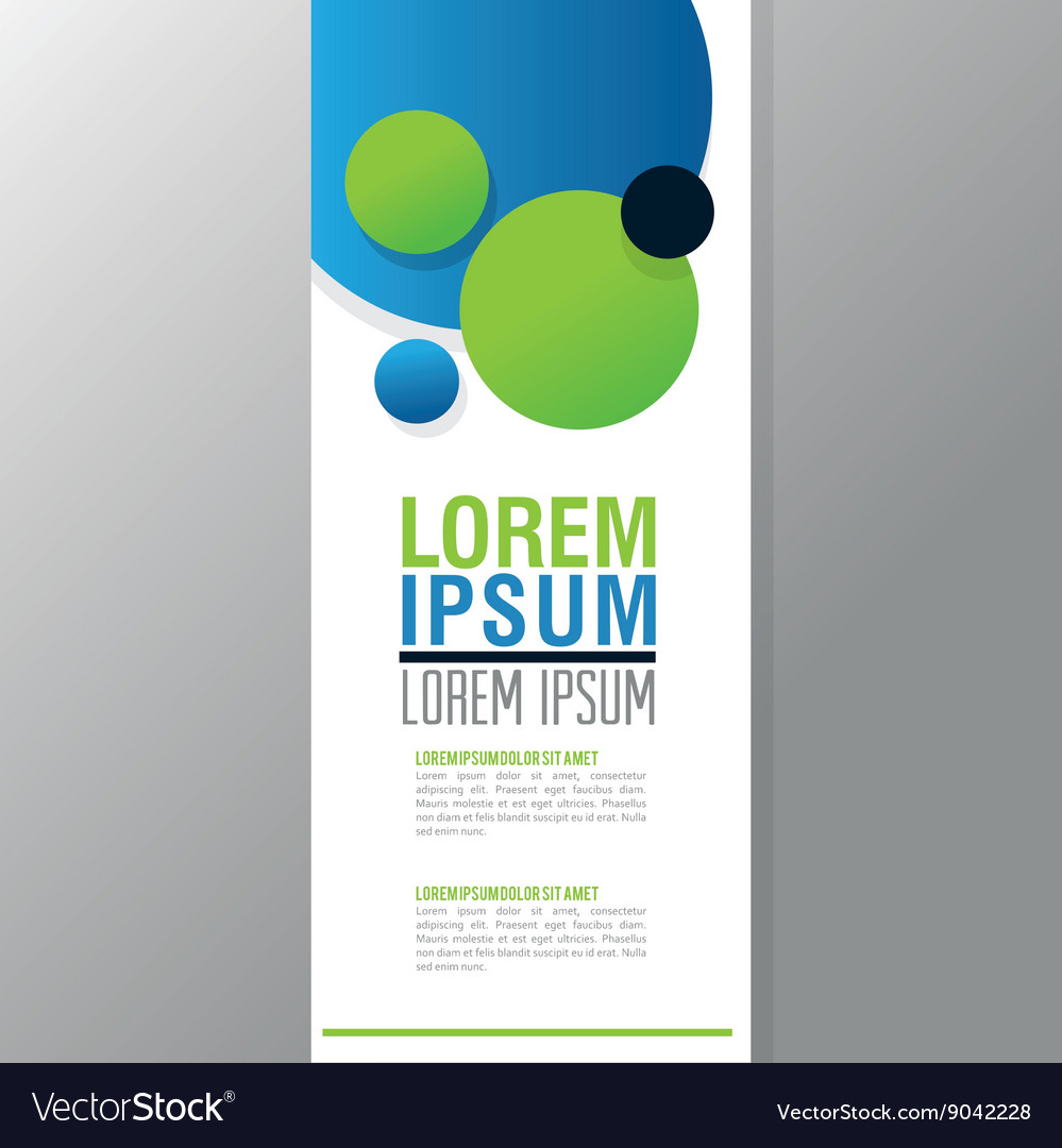 Flyer Headline design Paper icon Colorful design