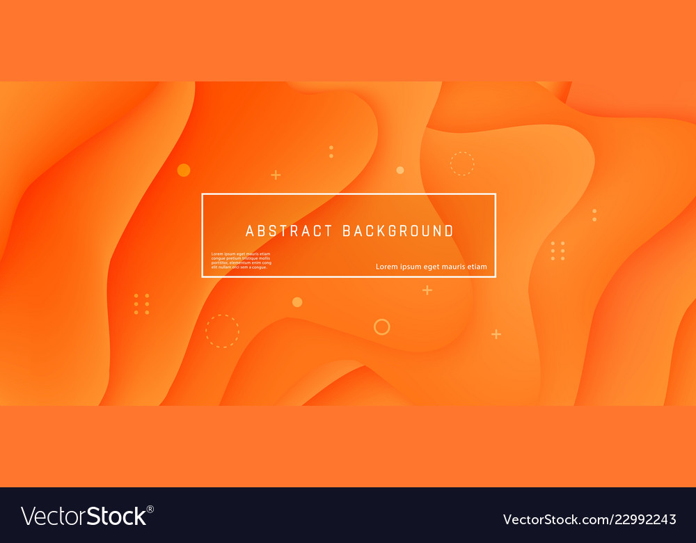 Abstract background wave motion flow orange