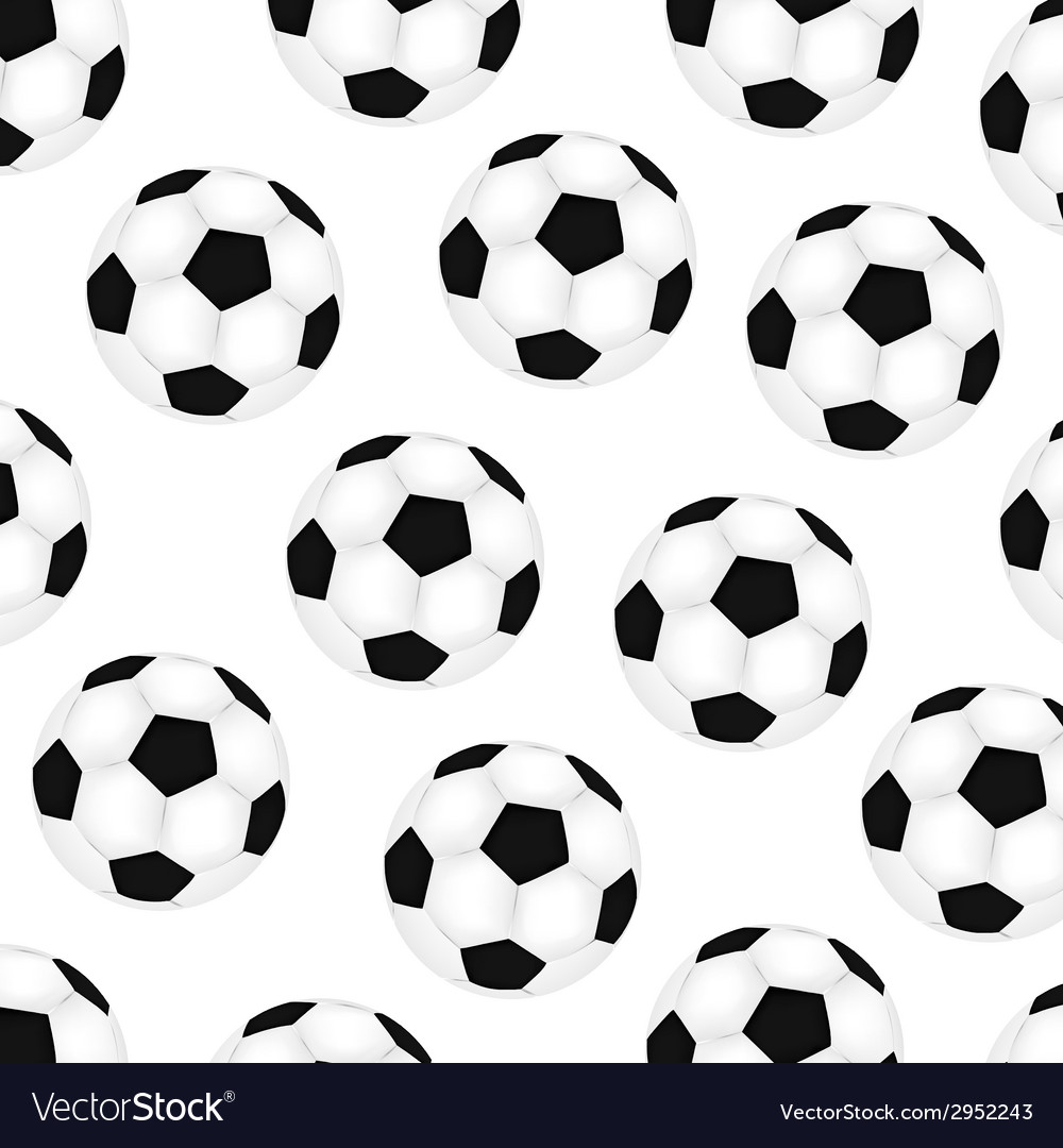 Background Soccer Balls Royalty Free Vector Image