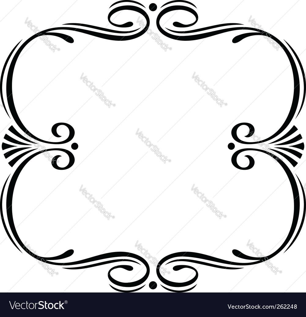 elegant frame royalty free vector image vectorstock rh vectorstock com frame vector art free frame vector art