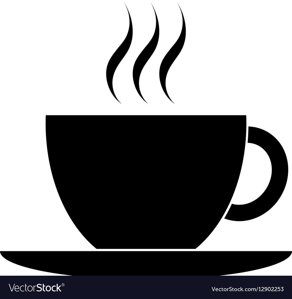 black coffee cup icon royalty free vector image coffee cup clipart outline coffee cup clipart doodle