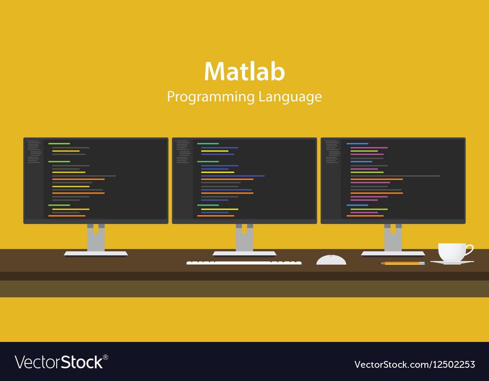 Matlab programming language code