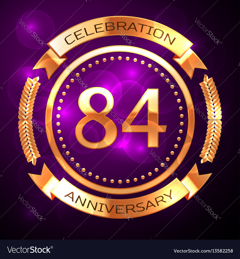 Eighty four years anniversary celebration with
