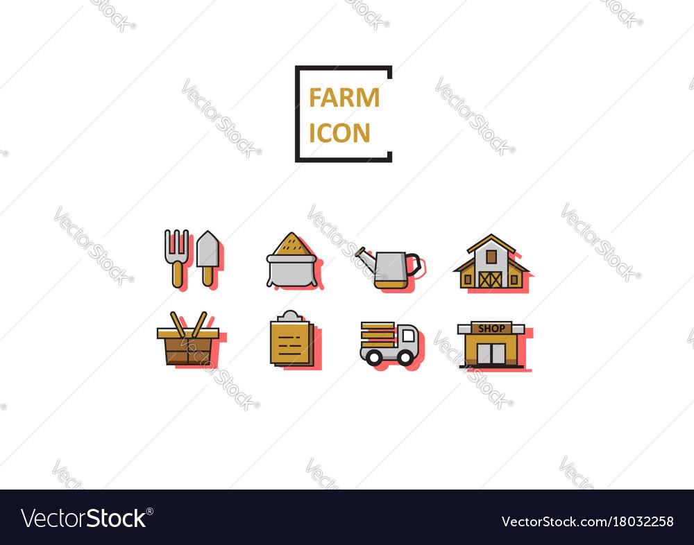 Simple color farm sets