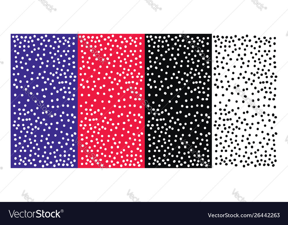 Polka dots wallpaper on white background