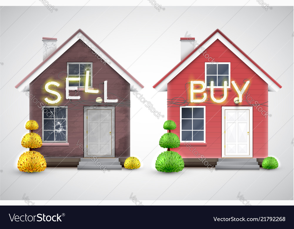 An old house to sell and a new one to buy