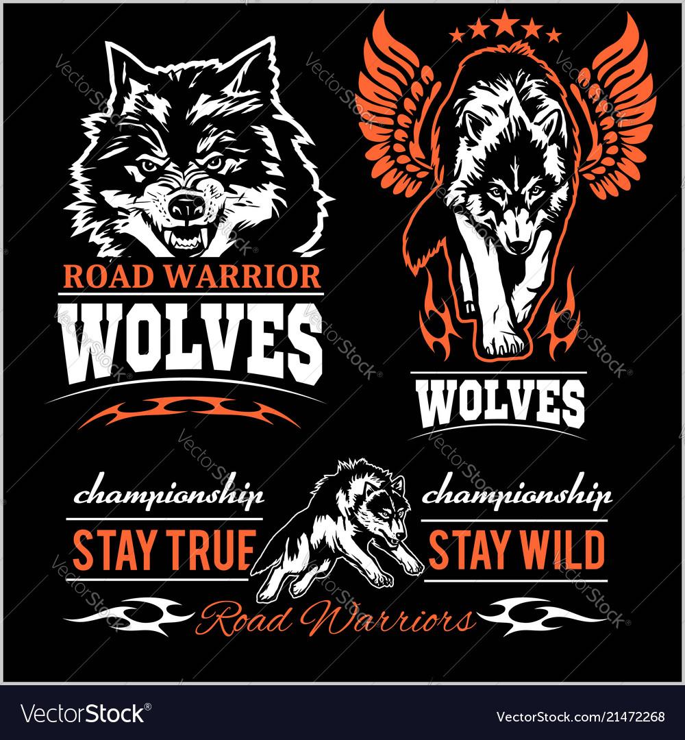 Wolves patch - set