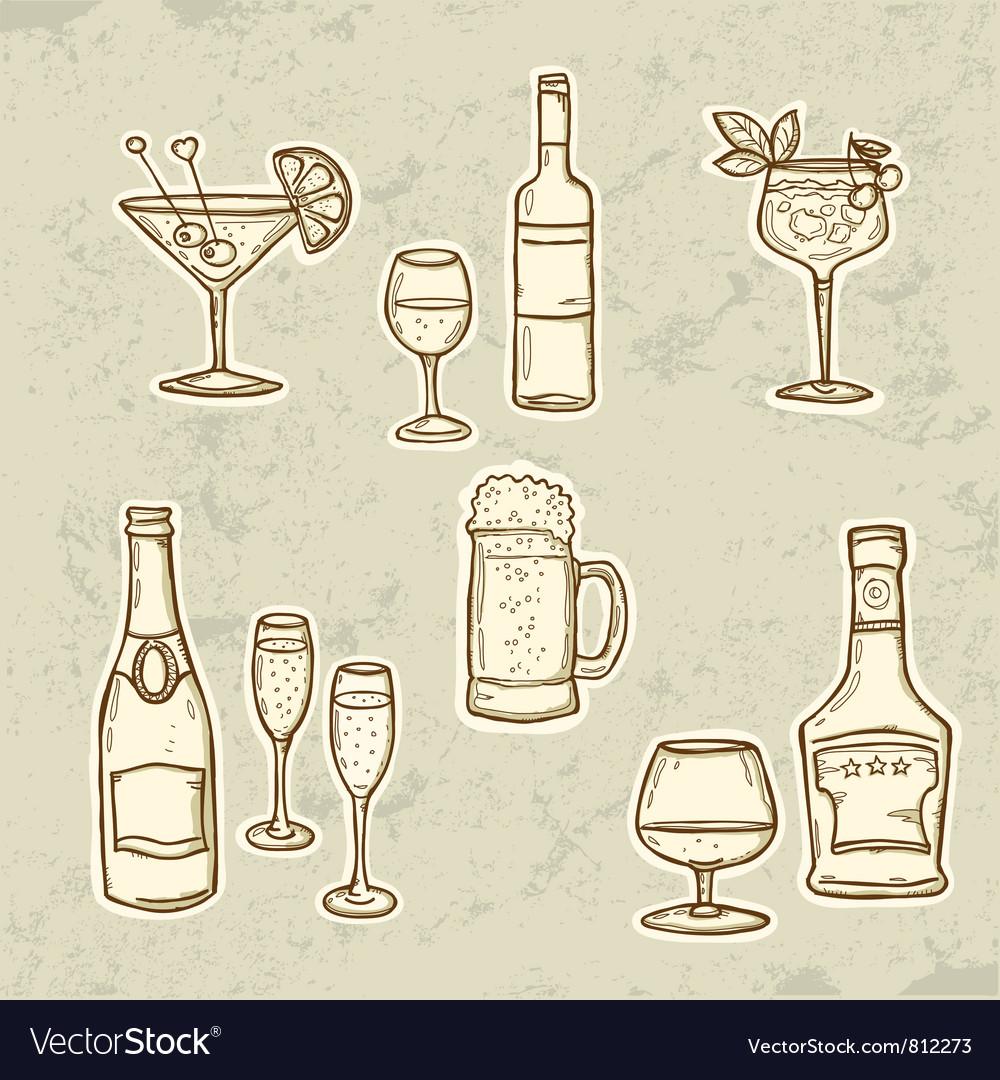 Alkohol Drinks Set