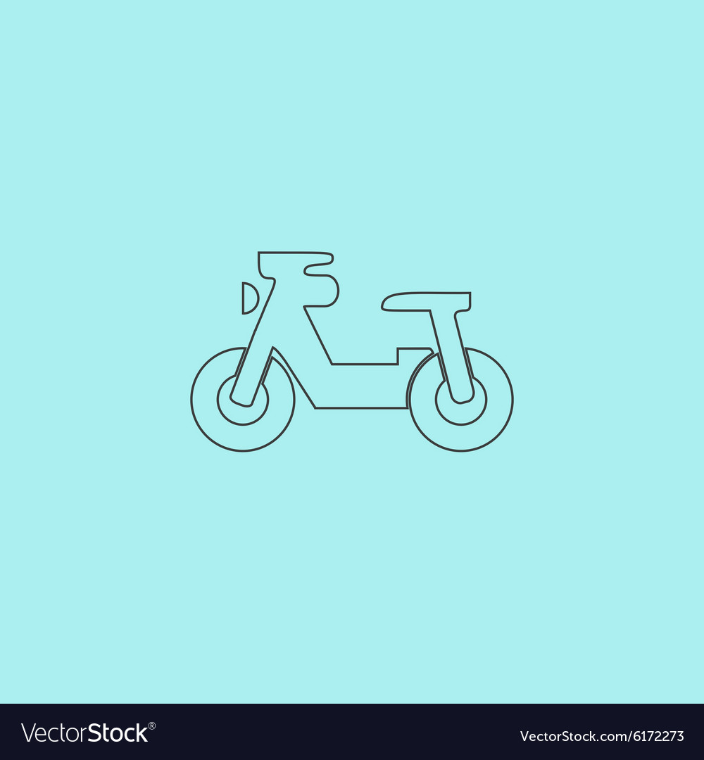 Transportation Flat Icon Pictogram