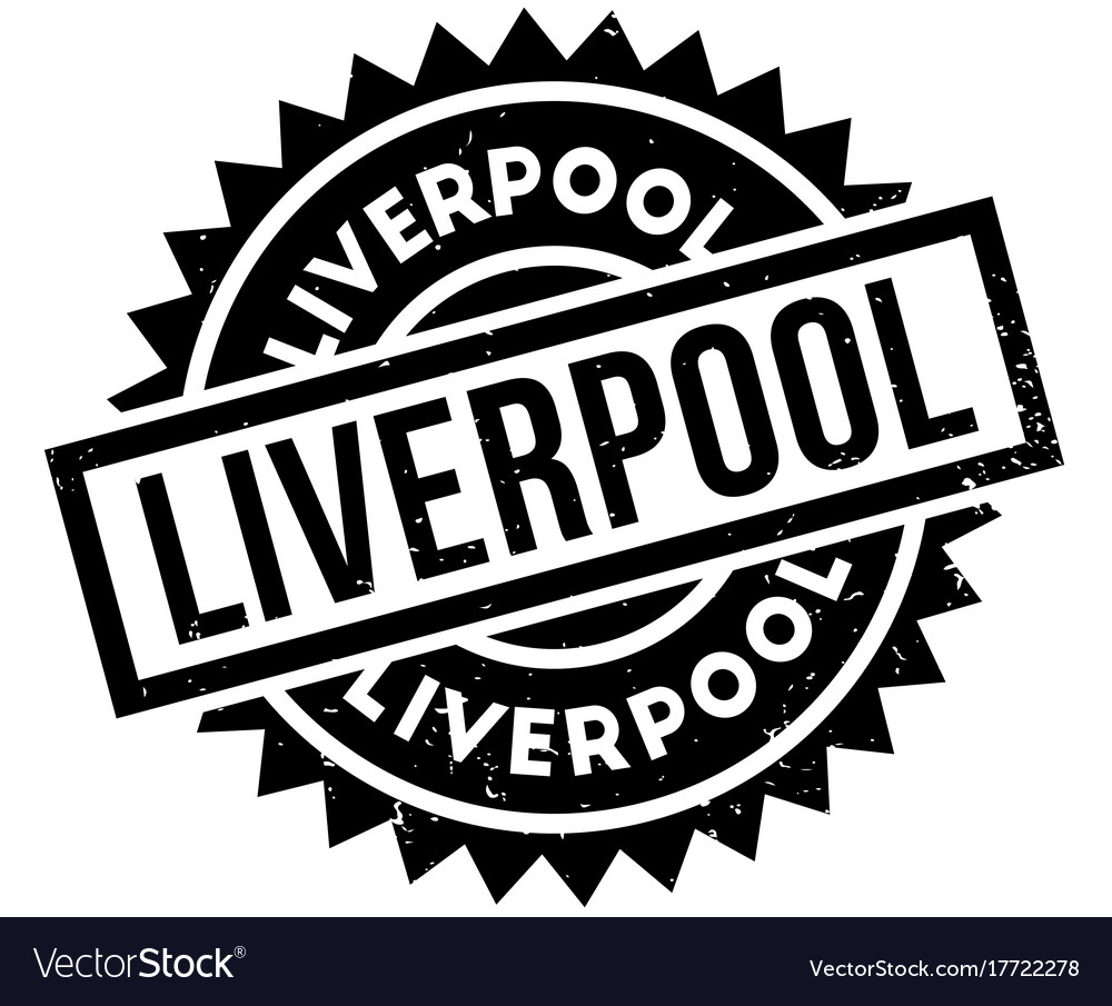 Liverpool Rubber Stamp Royalty Free Vector Image
