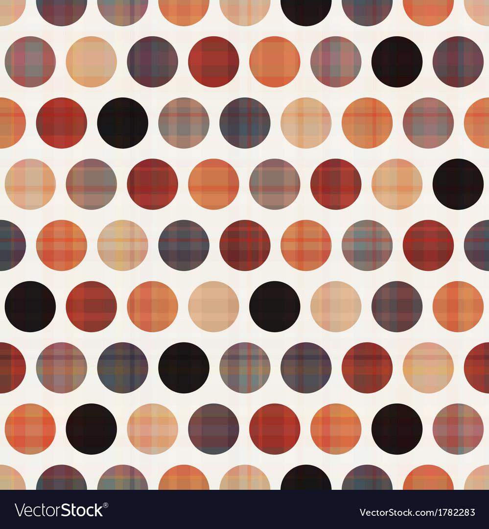 Seamless polka dots pattern texture