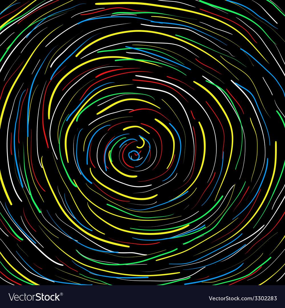Spiral black background