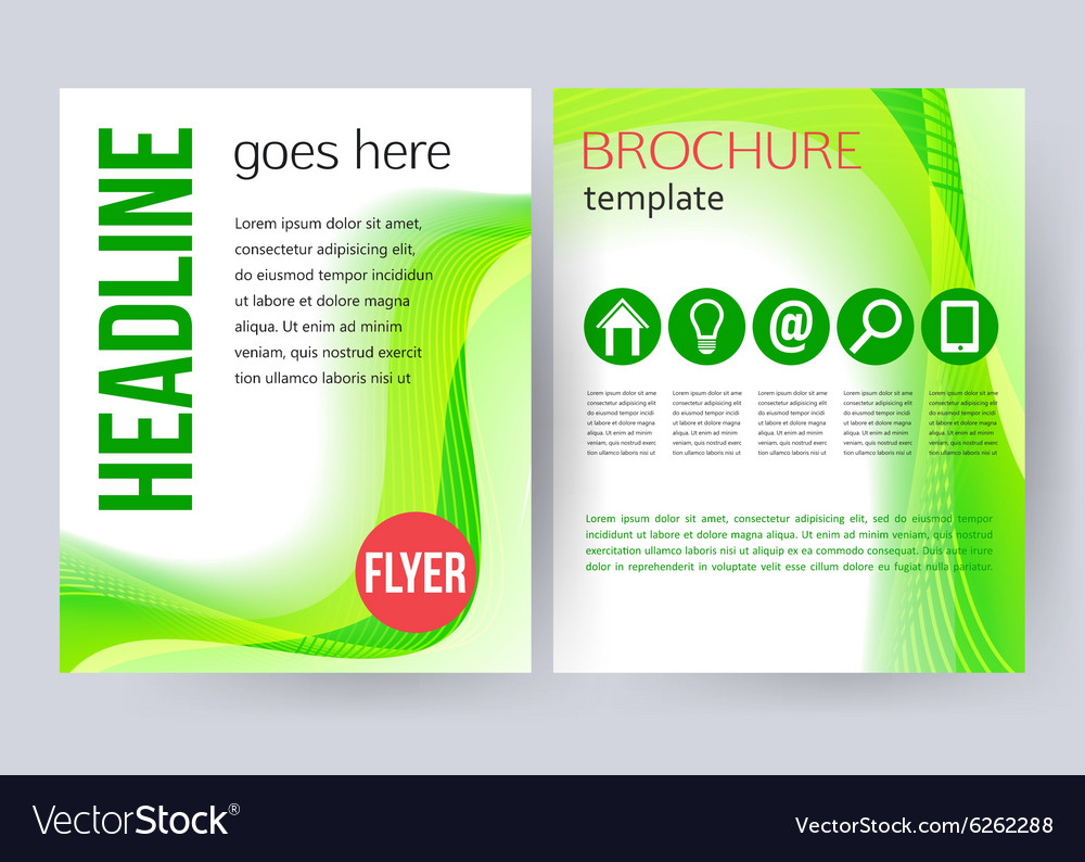 Corporate business stationery brochure templates vector image friedricerecipe Images