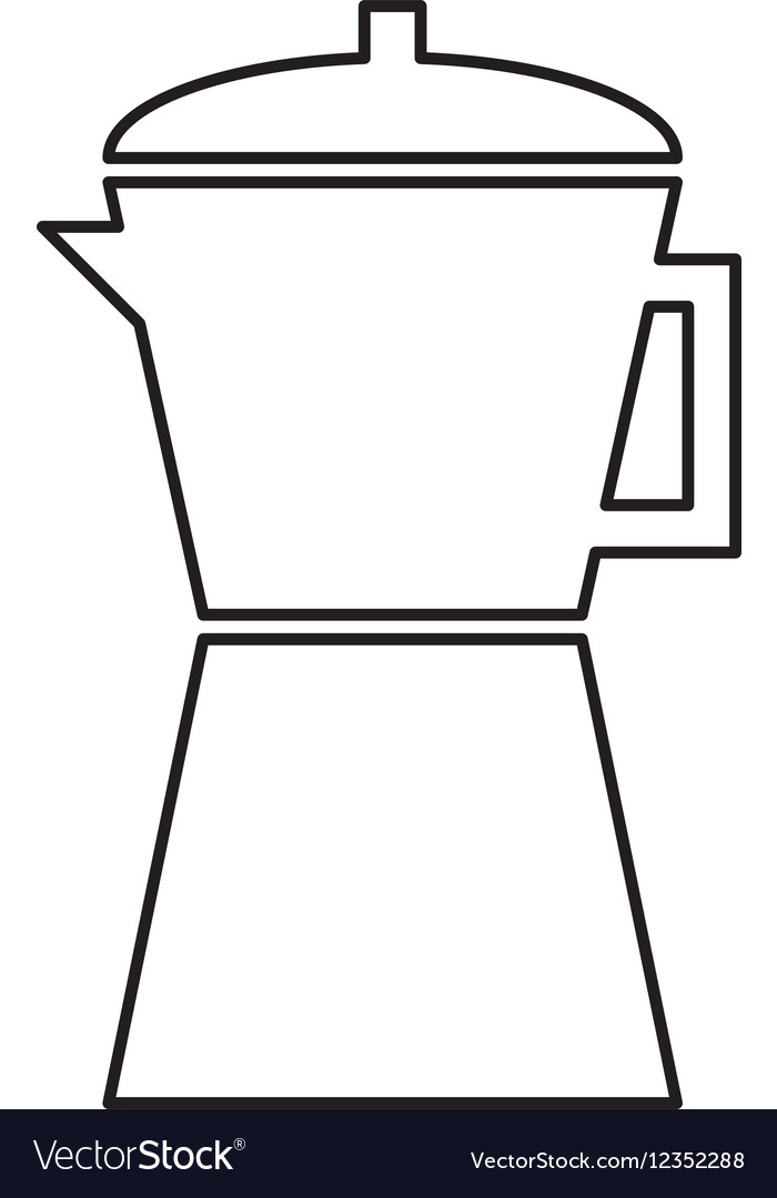 Kettle appliance isolated icon