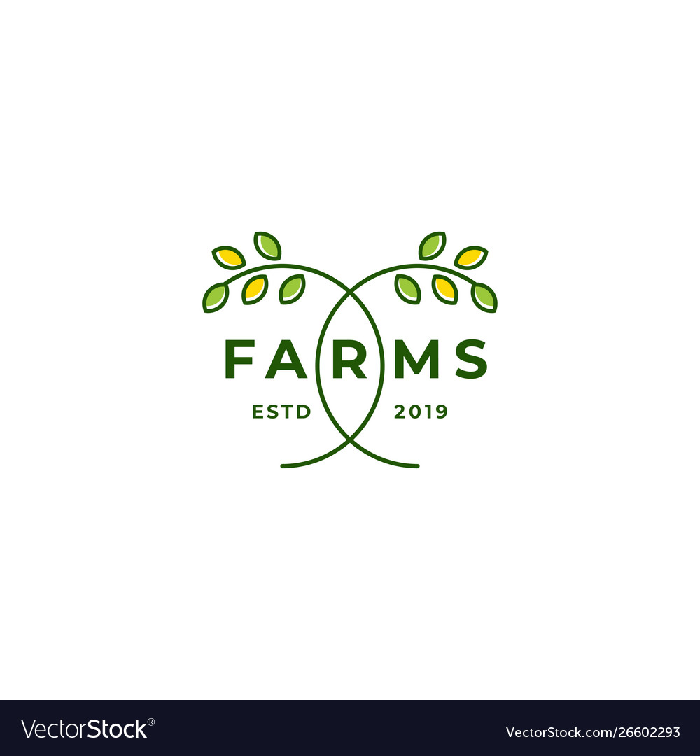 Farm icon template