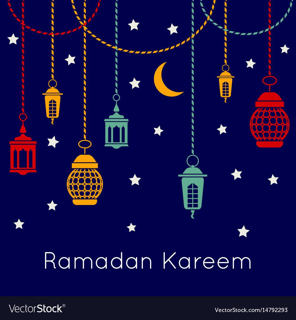 Ramadan kareem celebration background