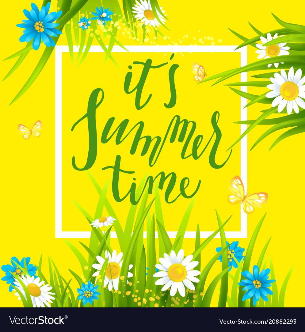 Summer time frame