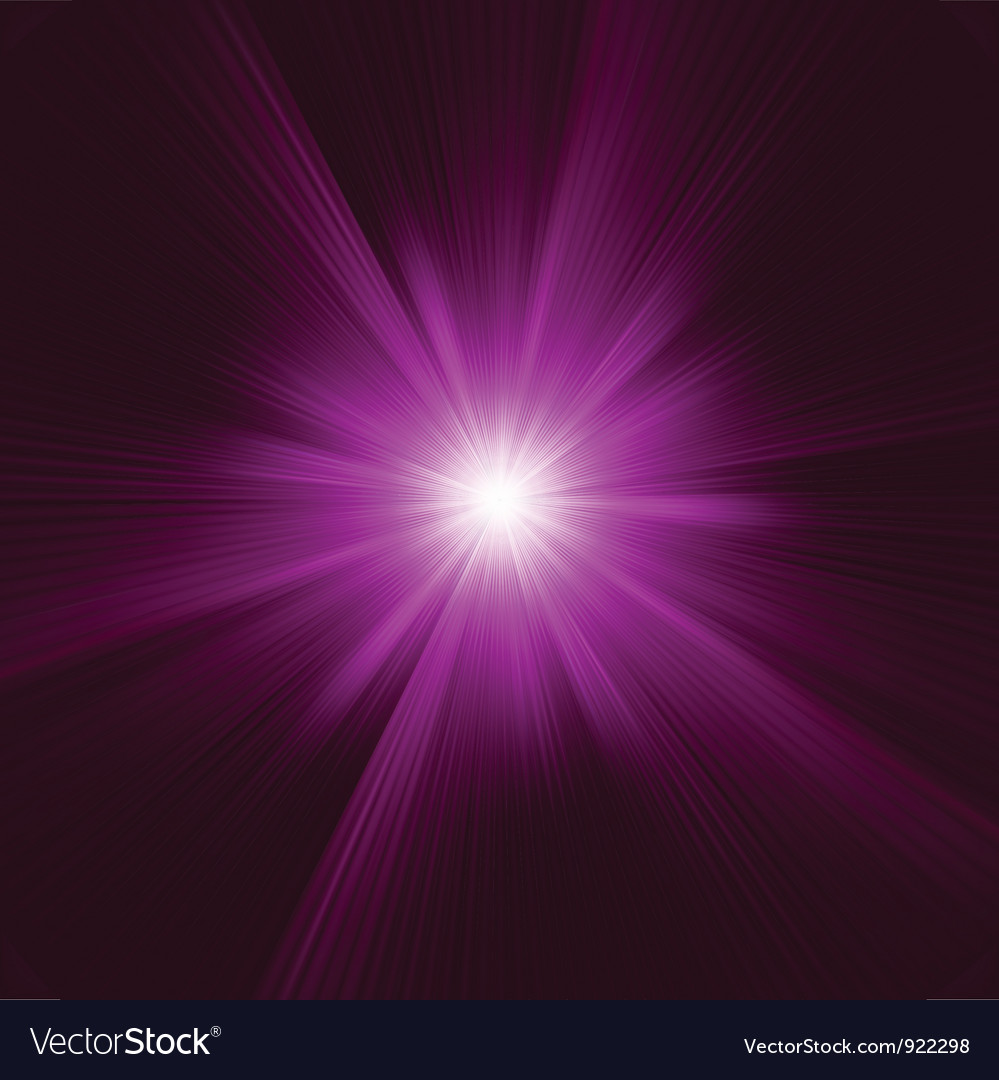 Purple abstract explosion