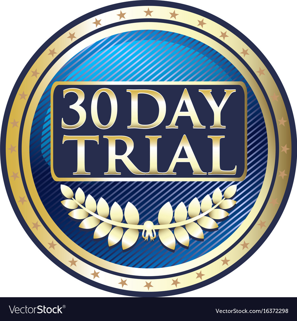 Thirty day trial icon