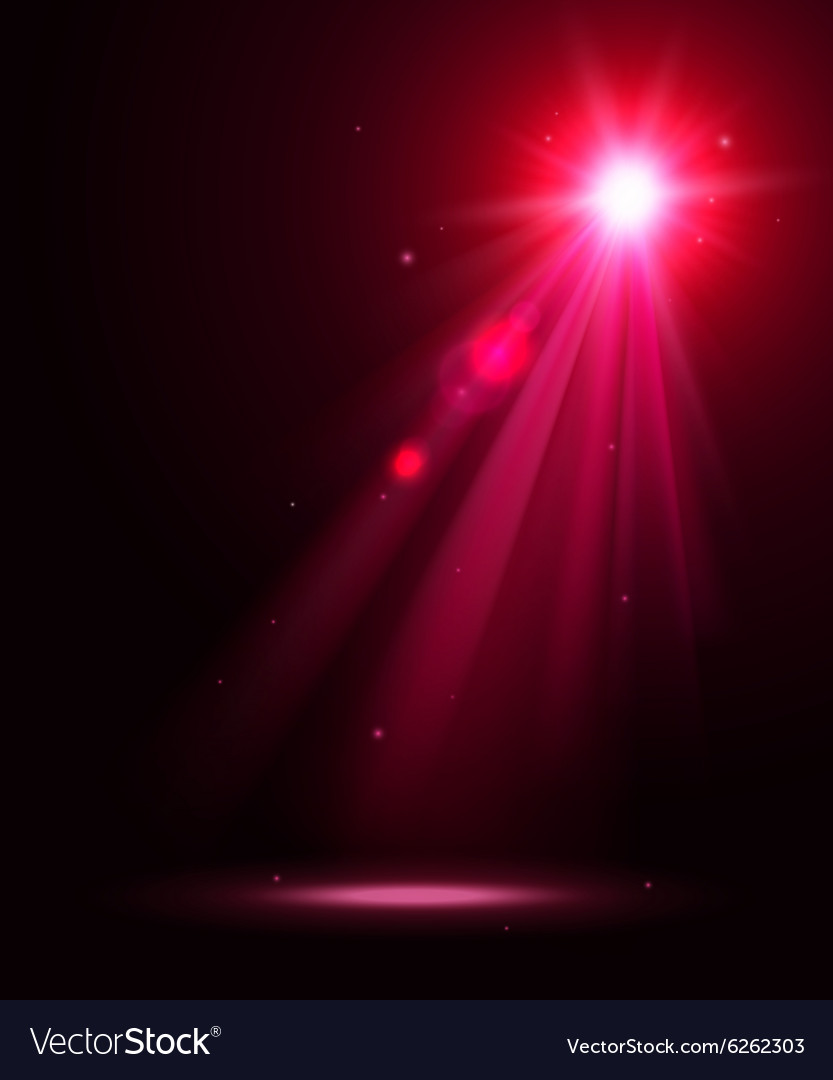 Abstract disco background with pink spot lights