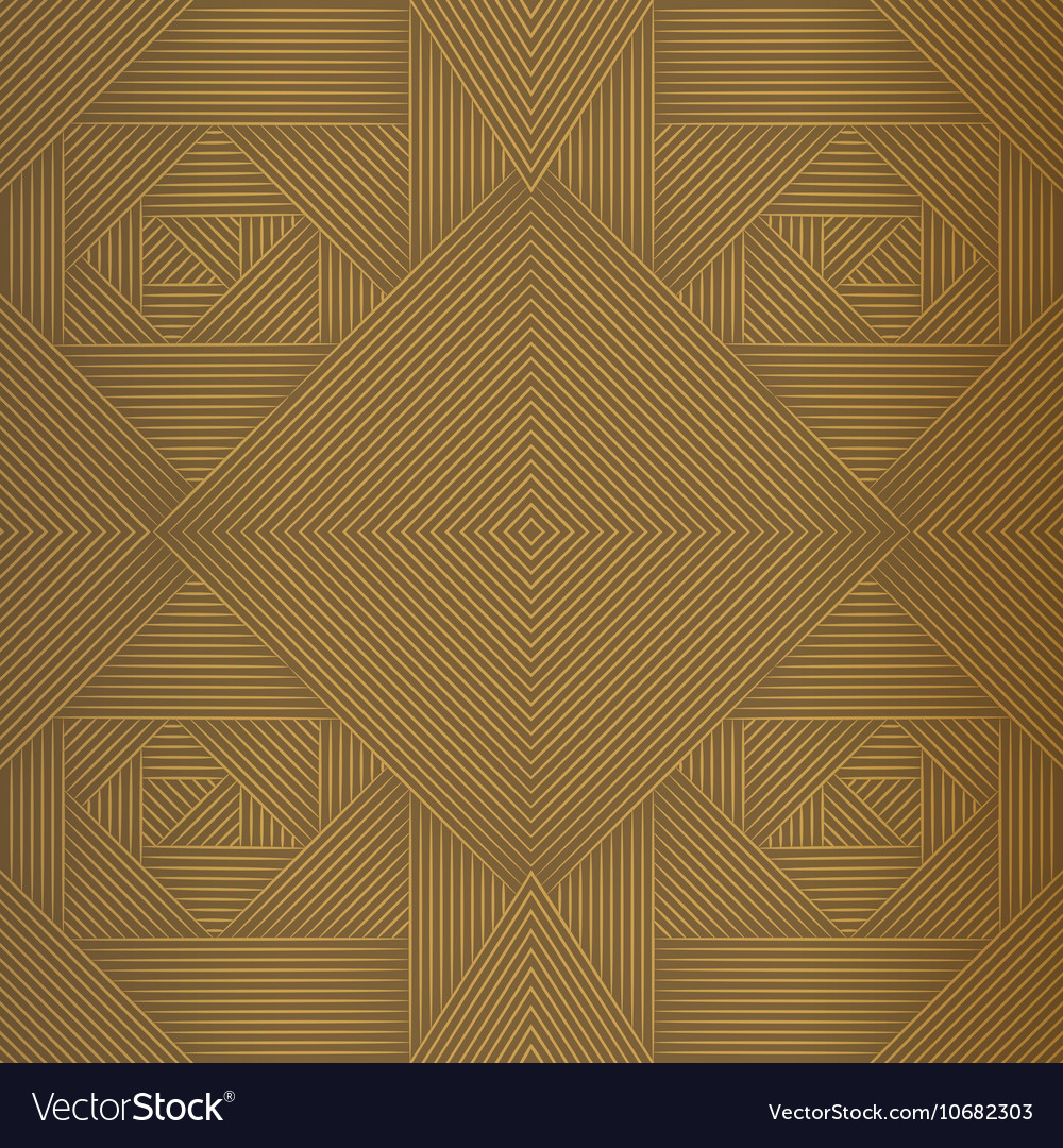 Geometric brown seamless pattern