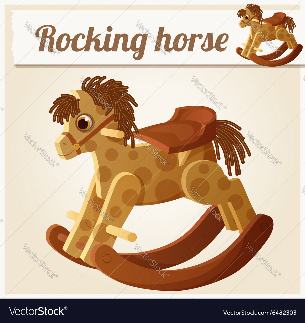 Rocking horse Cartoon