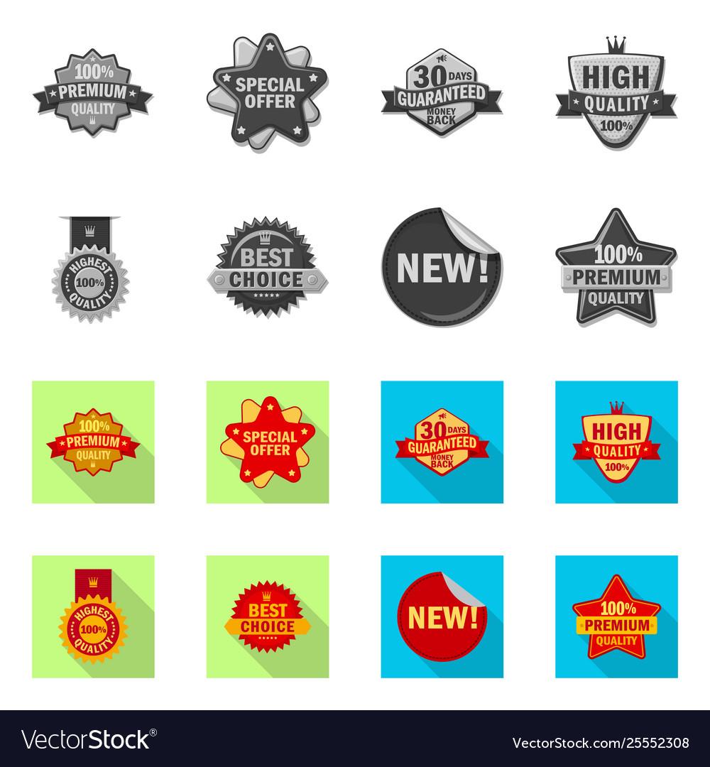 Design emblem and badge sign collection