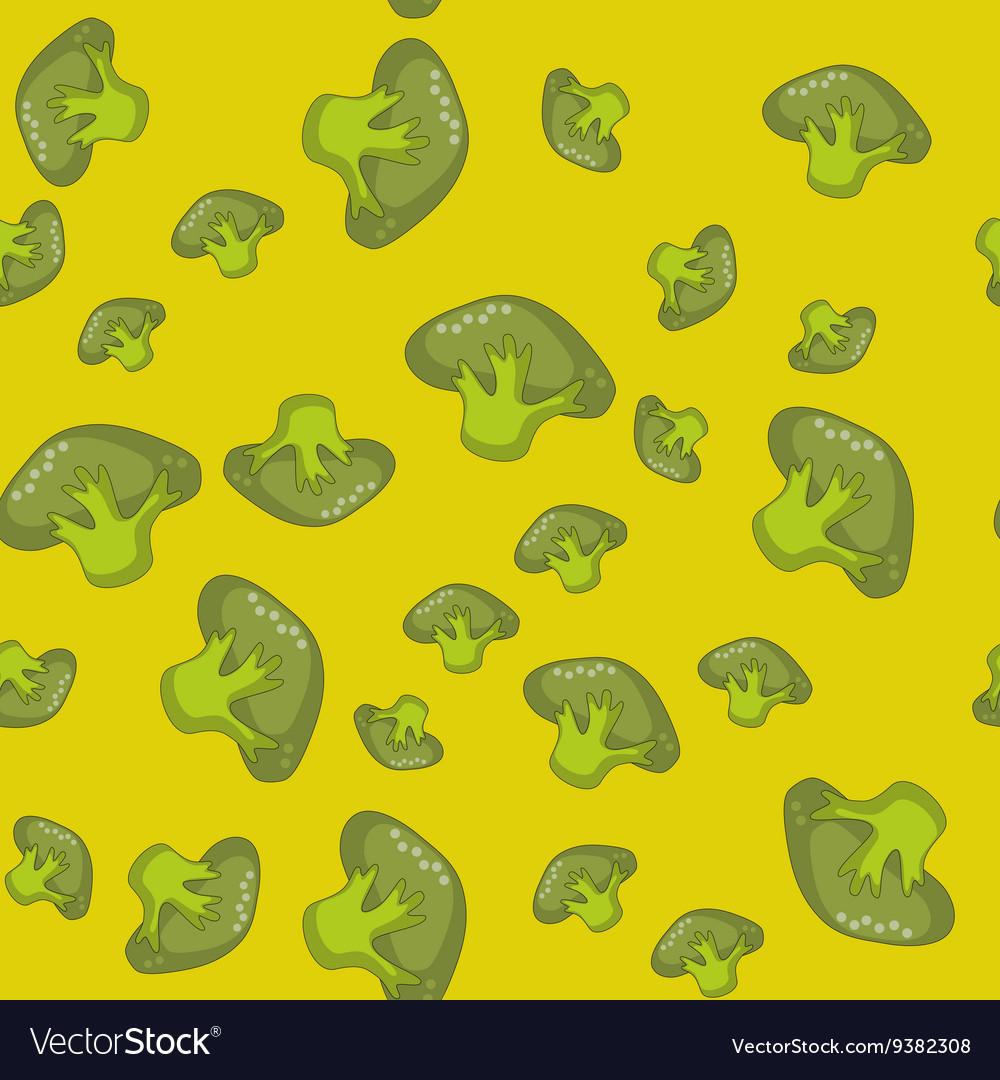 Green spinach seamless cartoon pattern 559