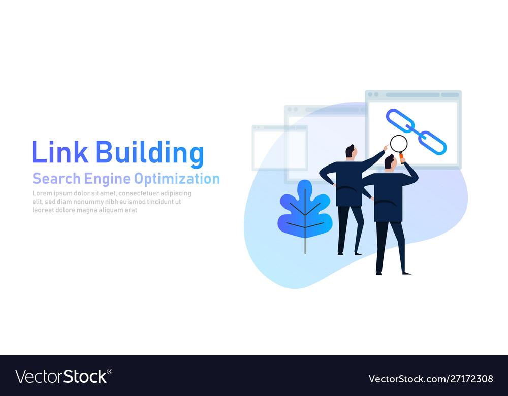 Link building search engine optimization create