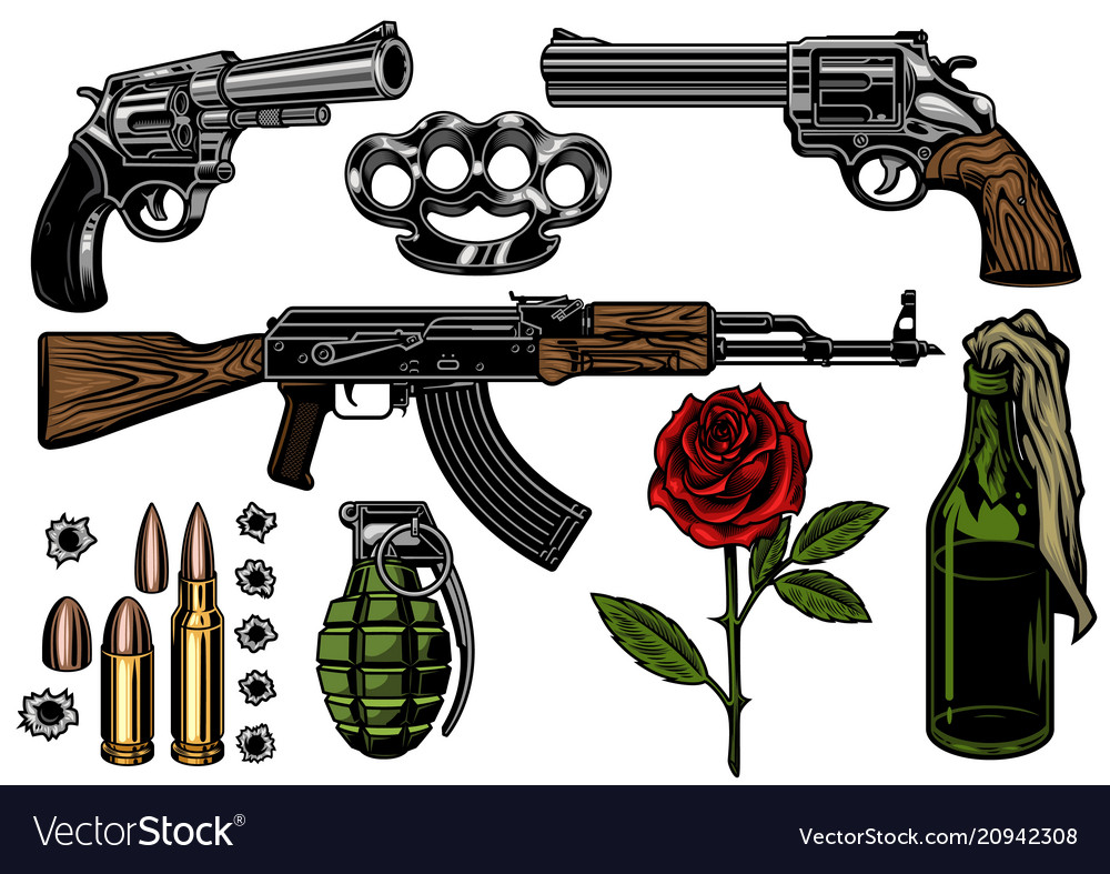Mafia and gangsters set