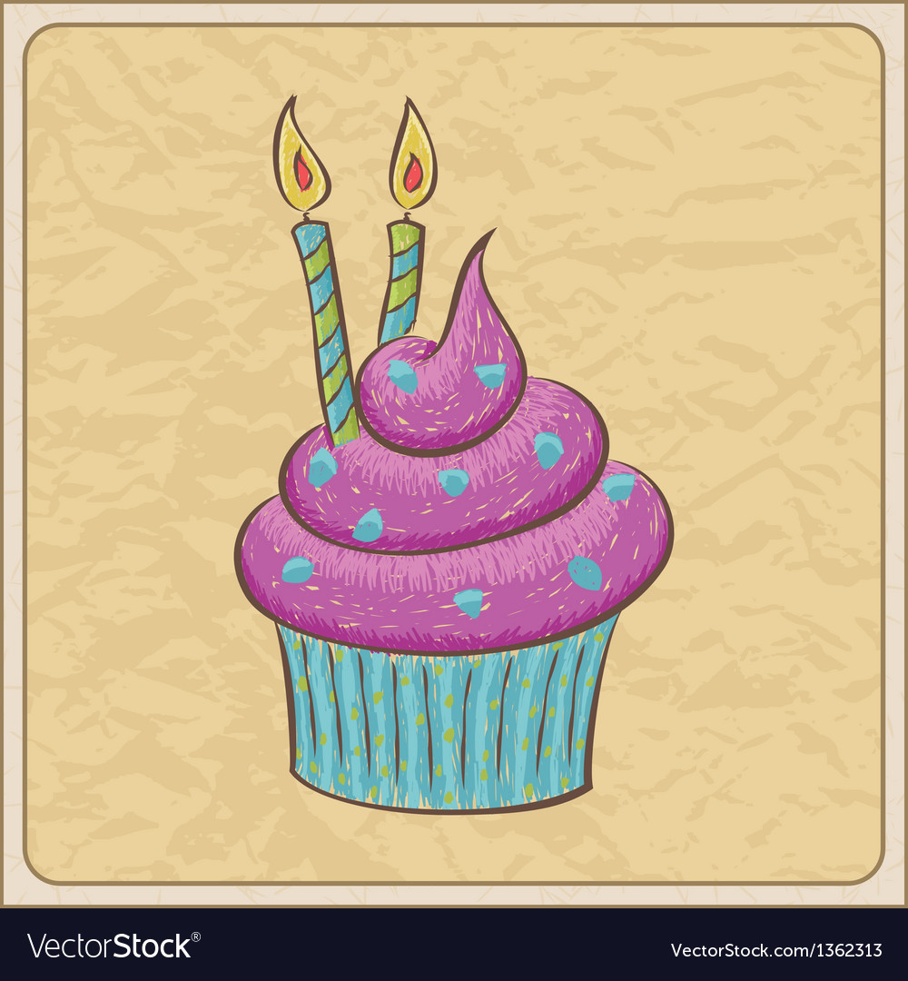 Cupcakes04 vector image