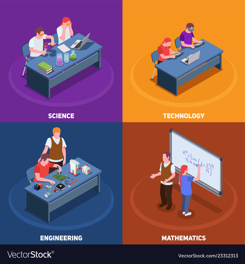 Stem education design concept
