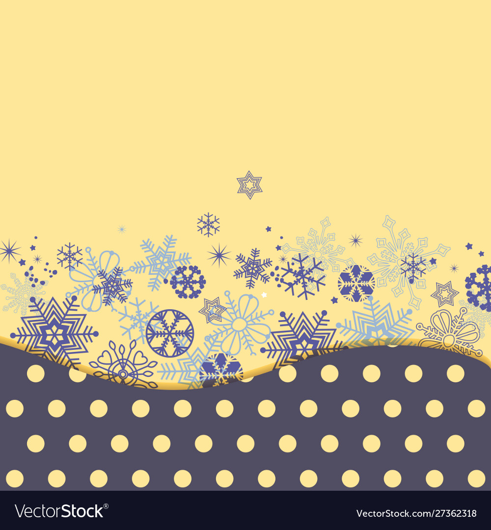 Christmas background colorful snowflakes in polka