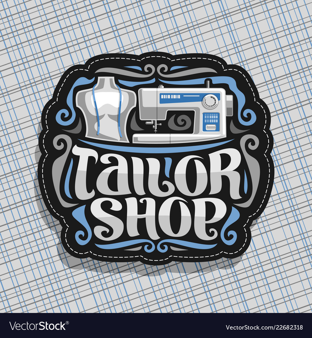 Logo for tailor shop