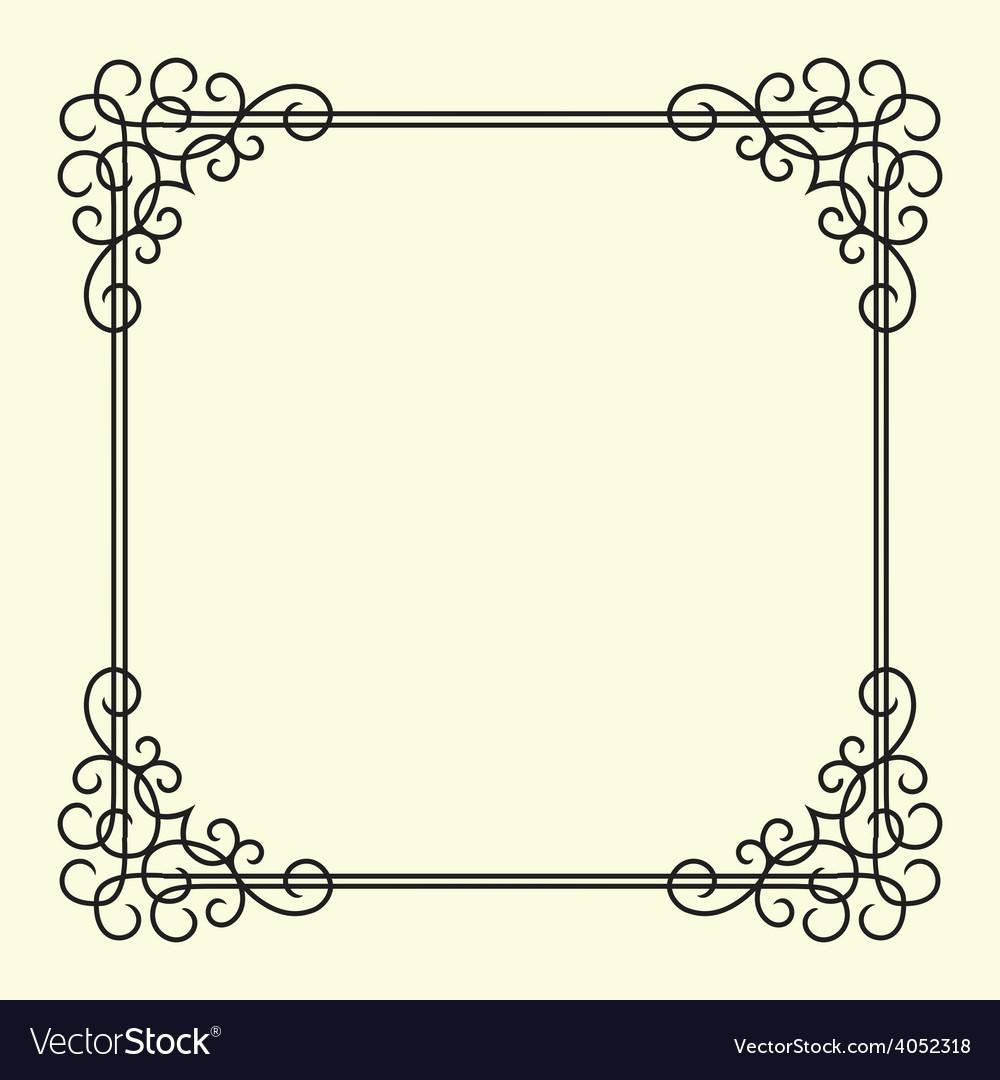 Twirl Vintage Frame