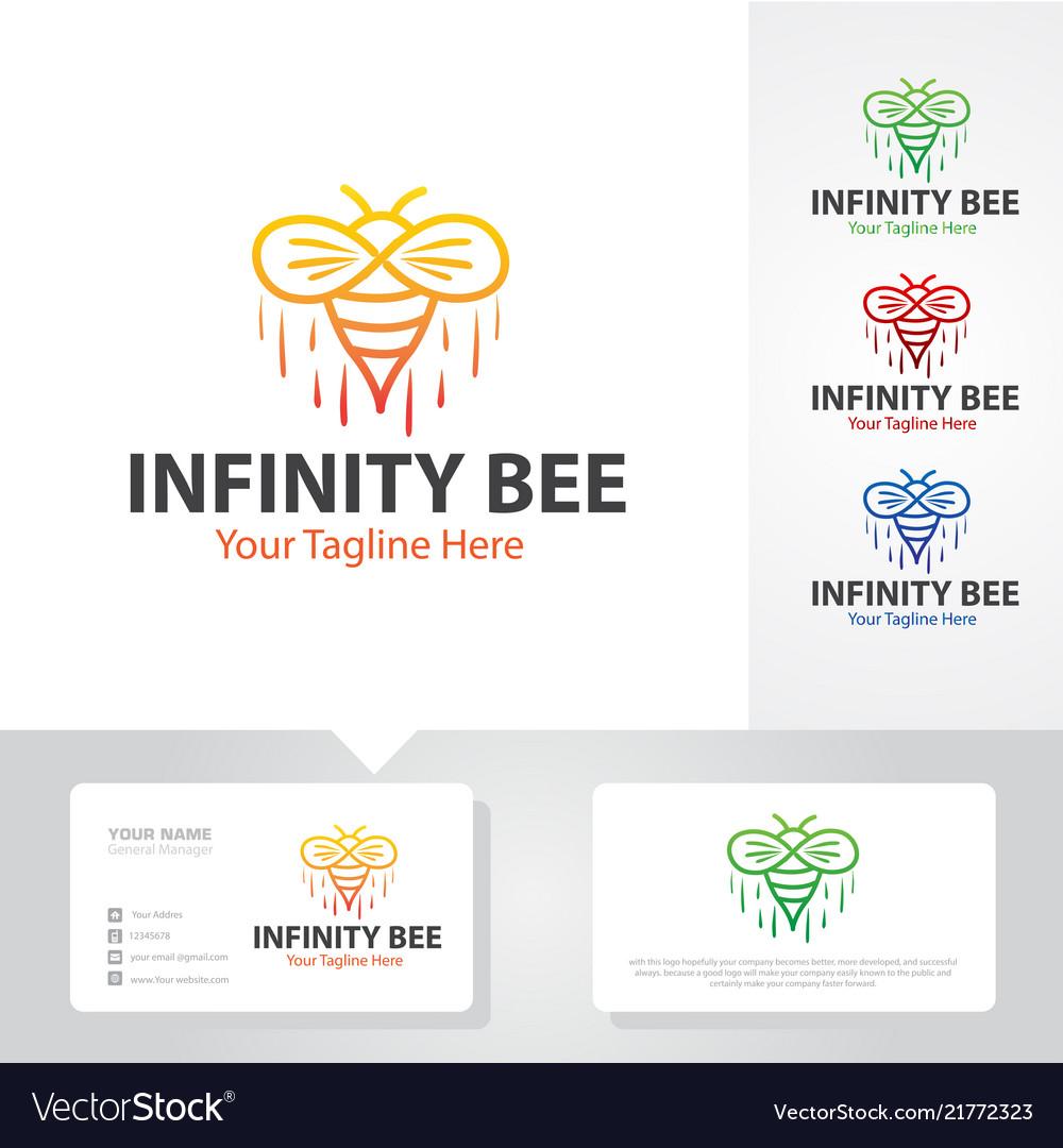 Bee logo designs