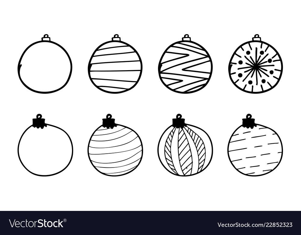 Hand drawing christmas