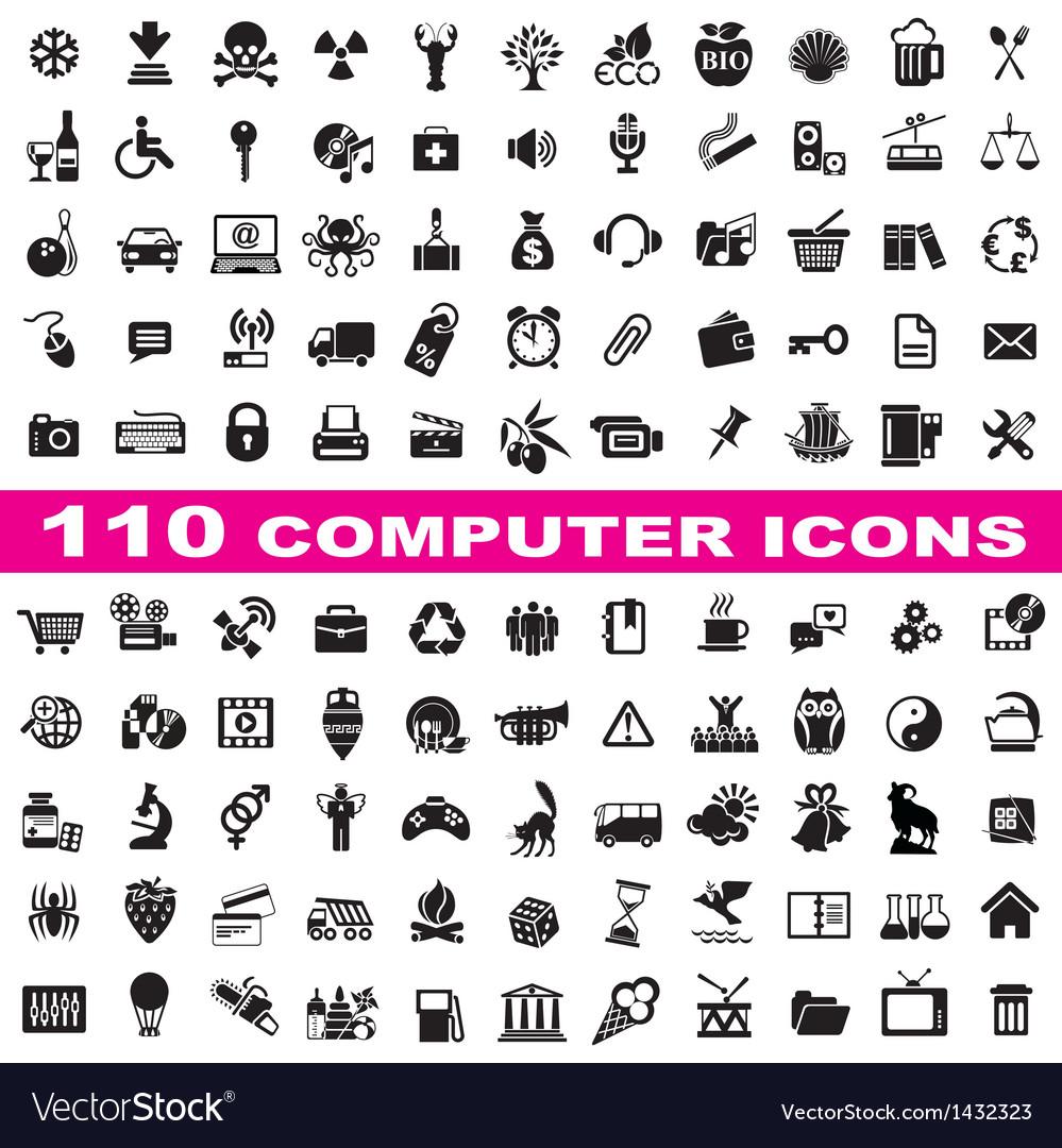Set computer icons