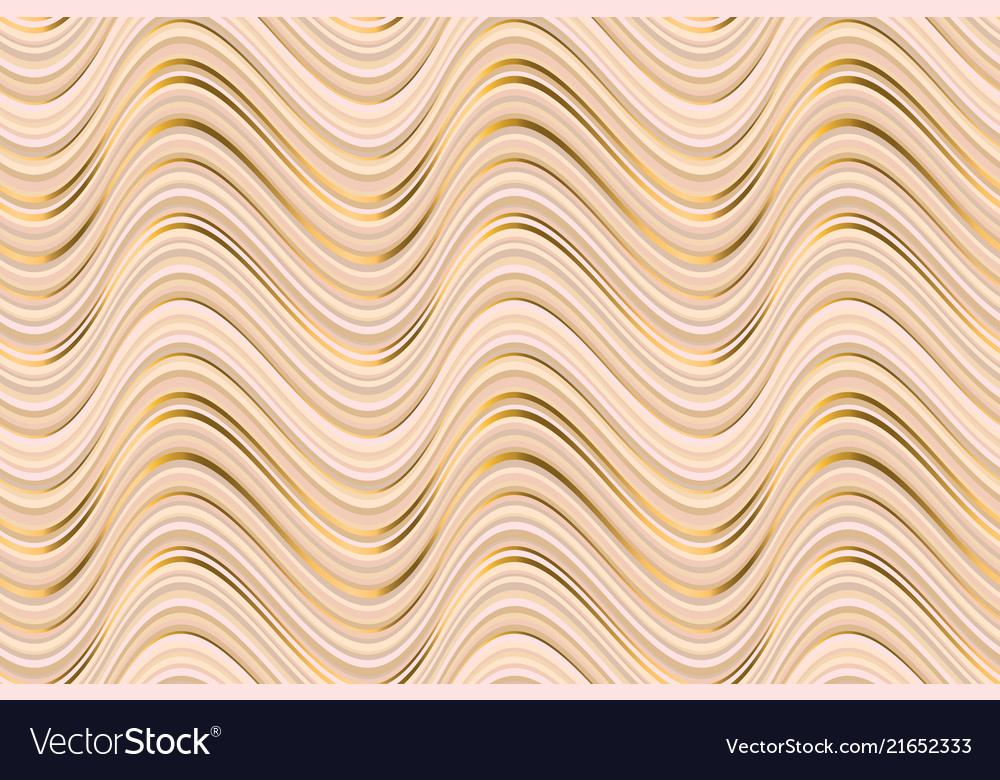 Abstract luxury beige waves seamless pattern