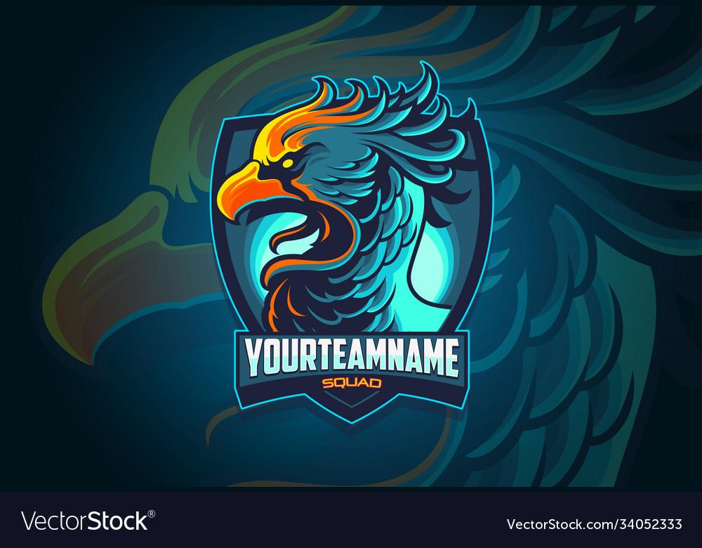 Phoenix esports logo design