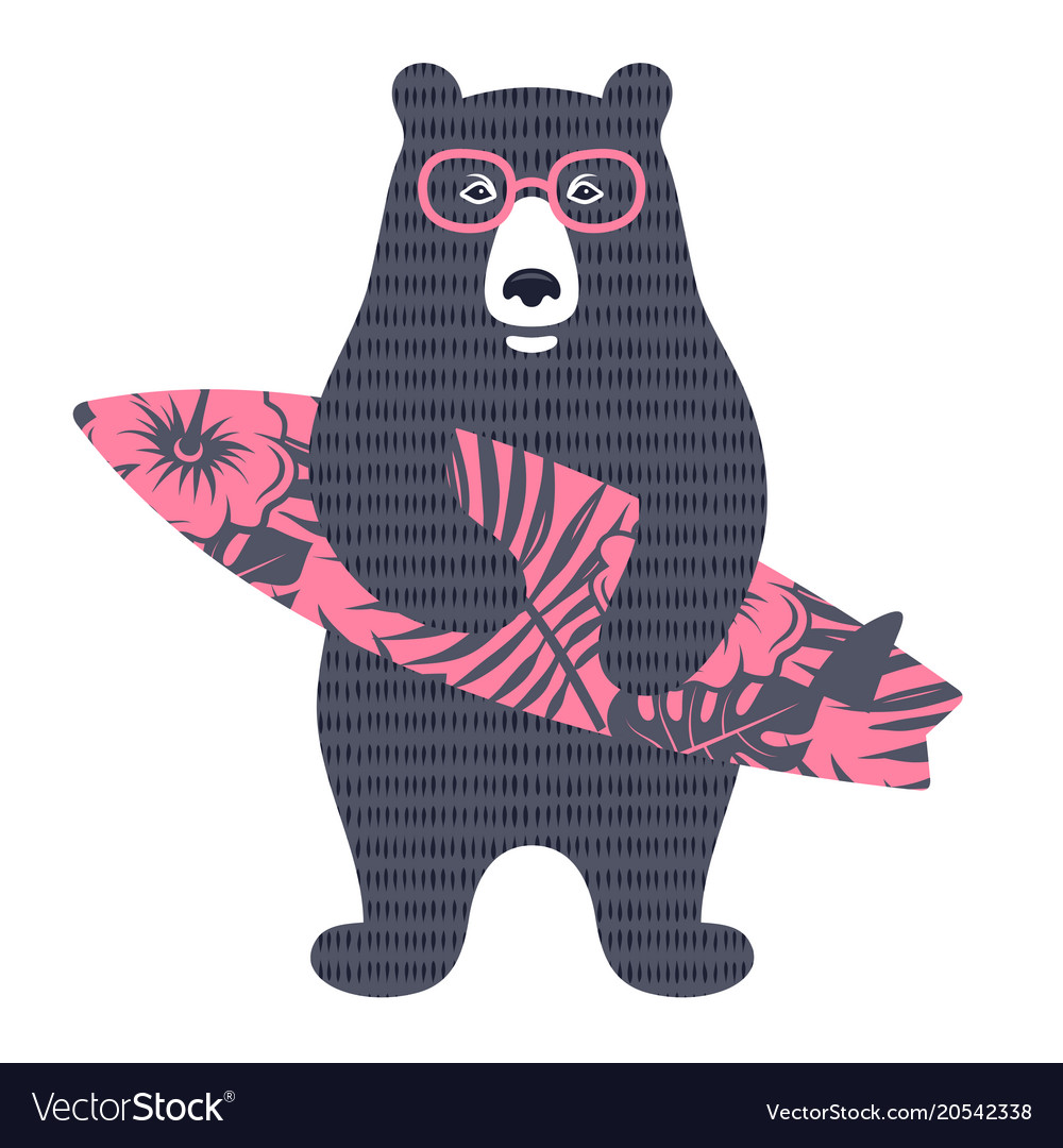 Bear surfer 002